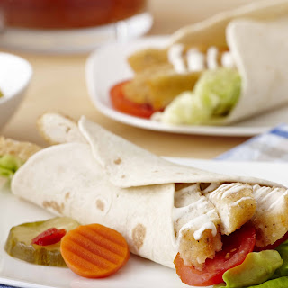 Southern Fried Chicken Breast Sandwich Wrap Recipe