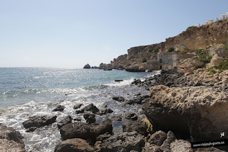 Photo: Golden Bay • Isla de Malta • www.viajesylugares.es/malta/malta-18-golden-bay.html