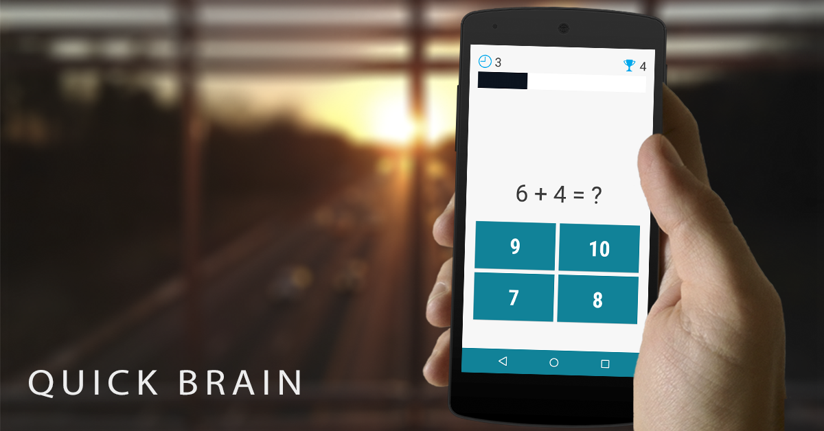 Quick Brain Mathematics - Exercises for the brain- screenshot
