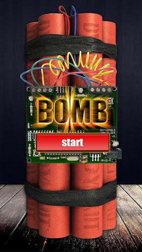 Time Bomb Broken Screen Prank