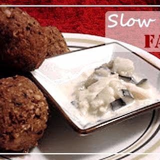 Vegetarian Indian Falafel