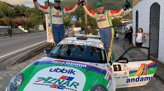 Cuarto triunfo de la temporada para Aznar y Galán en el Campeonato de Andalucía