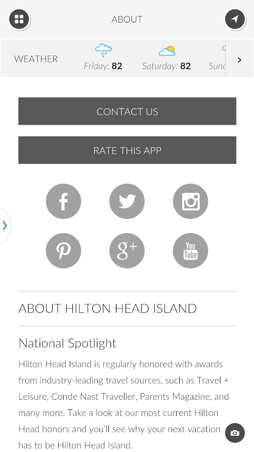 Hilton Head Island Compass- screenshot