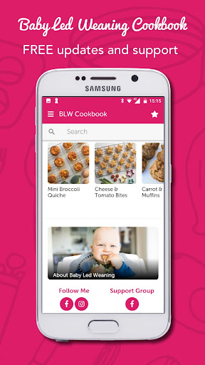 Screenshot for Baby-Led Weaning Recipes in United States Play Store