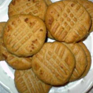 No Carb Peanut Butter Cookies.