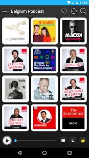 Belgium Podcast screenshot