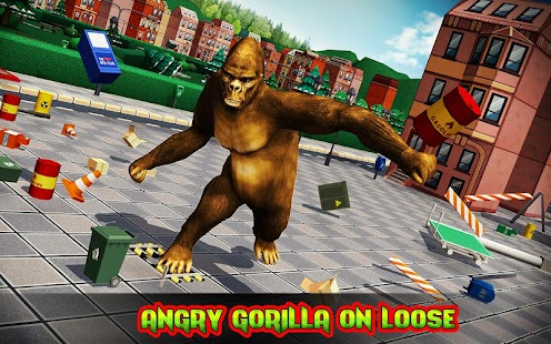 Ultimate Gorilla Rampage 3D- screenshot thumbnail
