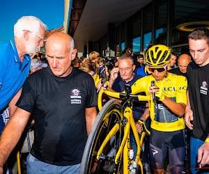 """Eerste echte kennismaking tussen toppers Bernal en Van Aert: """"Eén van de populairste renners in het peloton"""""""