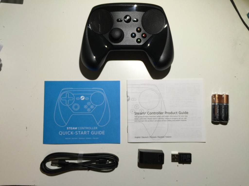 Steam Controller What's Inside