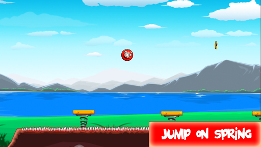 Code Triche Red Hero 3 - Roll and Jump Ball save Lover mod apk screenshots 4