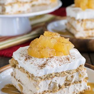 Cinnamon Apple Icebox Cake.