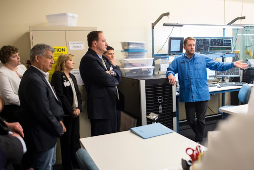 Acting Administrator Lightfoot Visits Sierra Nevada Corporation