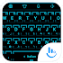 Keyboard Theme Neon 2 Cyan 3.2