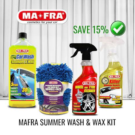 Mafra Summer Wash & Wax KIT