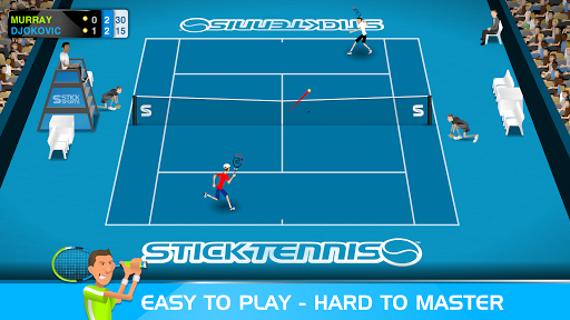Stick Tennis  screenshots 1
