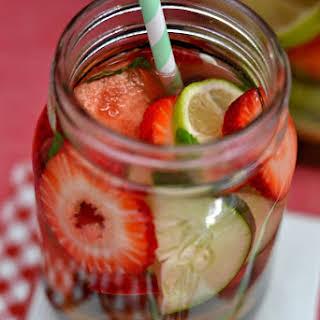 Fruit Infused Vitamin Water.