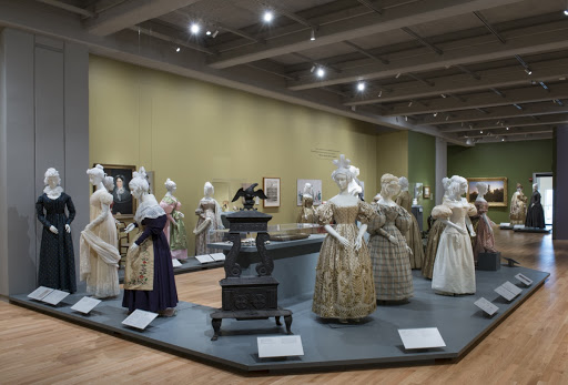 Installation view, Gothic to Goth: Romantic Era Fashion & Its Legacy