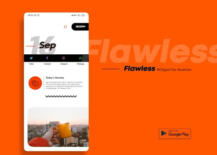 Flawless KWGT 10.0 Paid Latest APK Free Download 4