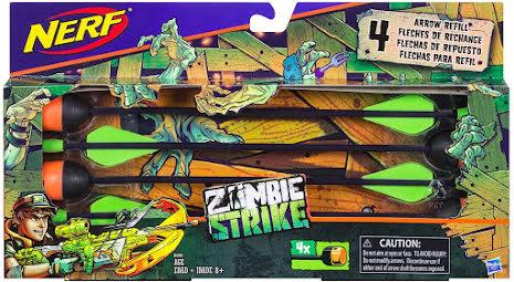 Nerf Zombie Strike Arrow Refill Hasbro