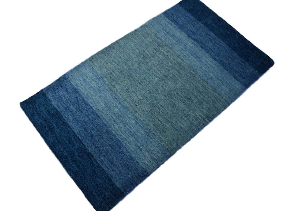 dywan gabbeh niebieski 70x140cm excellent wełna argentyńska