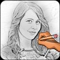 Sketch Photo : Pencil Sketch icon