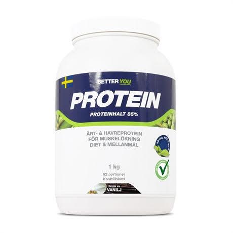 Better You Ärt och Havre Protein 1kg - Vanilj
