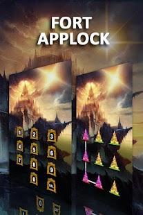 AppLock Theme Fort - náhled