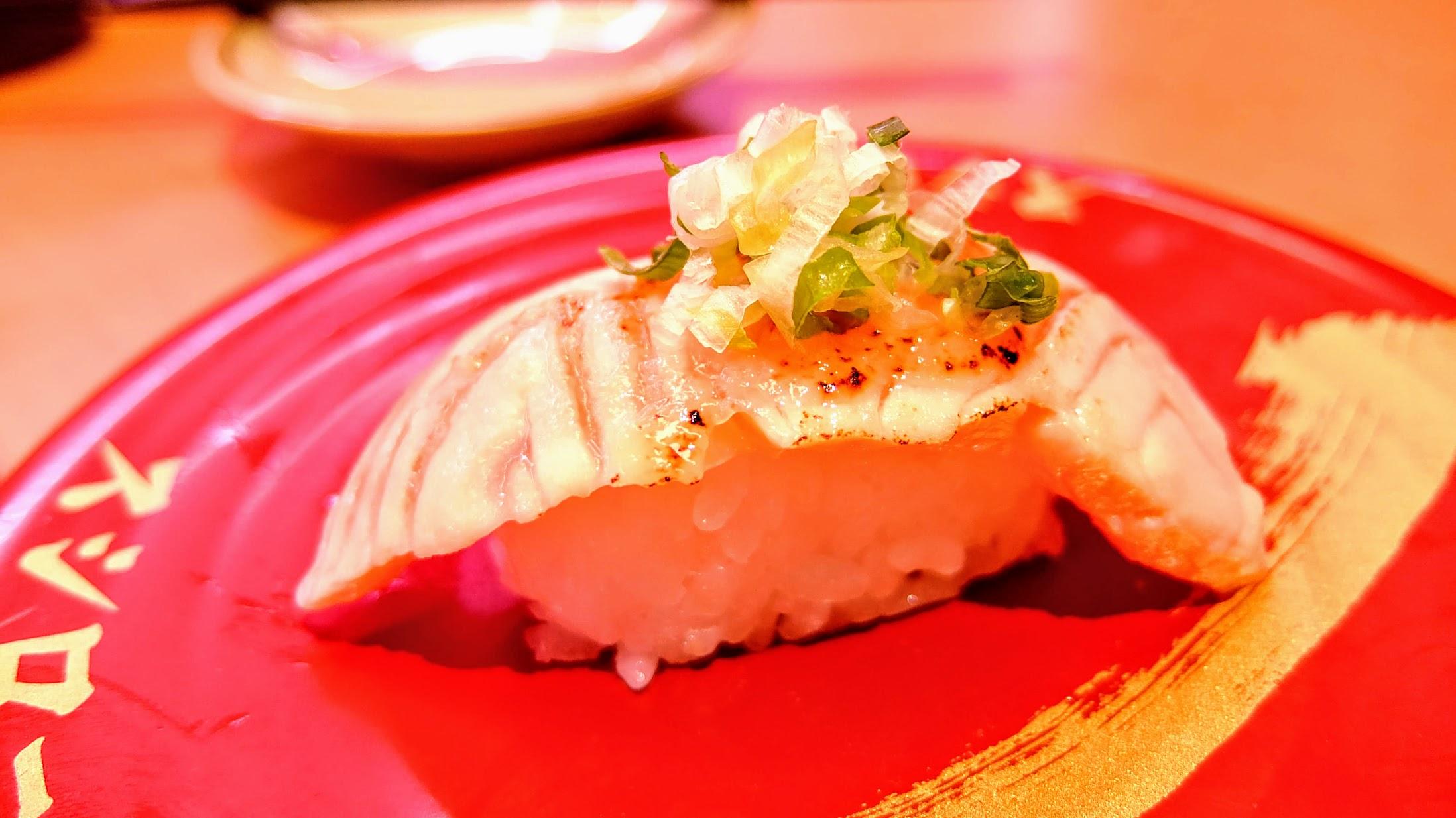 炙燒鮭魚,光鮭魚就頗多種可選擇