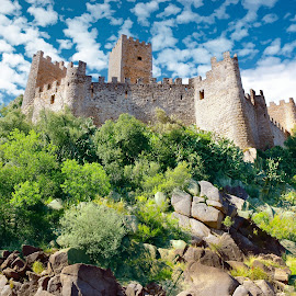 Almourol Castle by Gjunior Photographer - Buildings & Architecture Public & Historical ( castle, landscape, building, architecture )