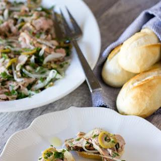 Lori's Pork Tenderloin Salad.