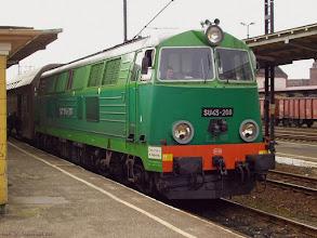 Photo: SU45-208, Toruń Główny - Malbork {Toruń Wschodni; 2004-03-30}