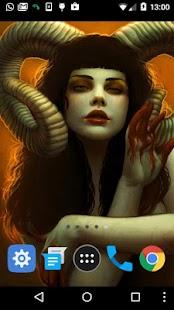 live devil wallpaper - náhled