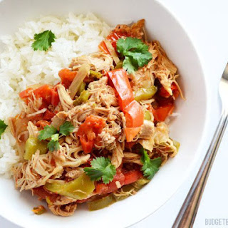 Slow Cooker Chicken Ropa Vieja.
