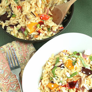 Ina Gartens Orzo with Roasted Vegetables Recipe