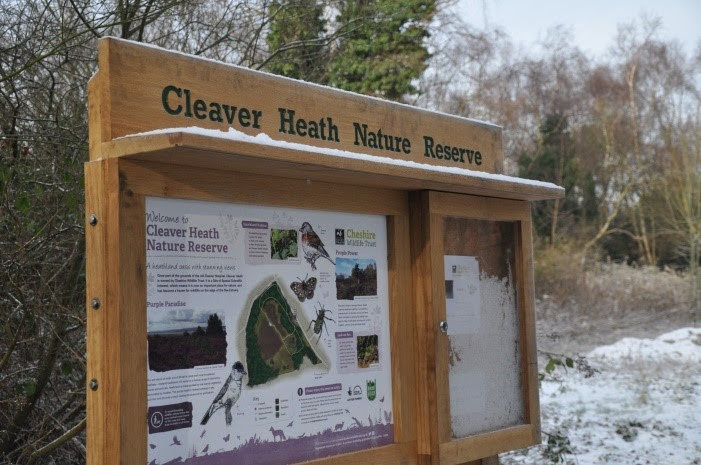 Cleaver Heath noticeboard