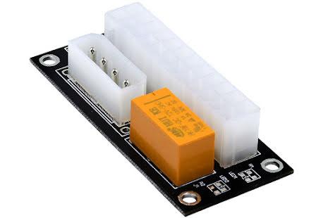 OEM Relé for tilkobling og start av strømforsyning nr. 2, 4-pins drevtilkobling