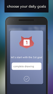 Download threegoals.today - goal tracking and motivation For PC Windows and Mac apk screenshot 1