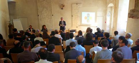 Photo: Lancement de la rencontre SILLAGES 2013 par Patrick VOISIN, coordinateur de la rencontre