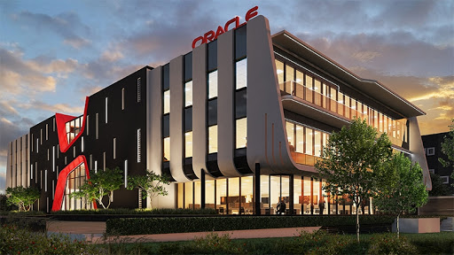The Oracle SA building in Woodmead, Johannesburg.