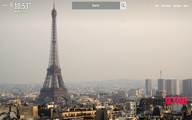 Eiffel Tower New Tab Eiffel Tower Wallpapers
