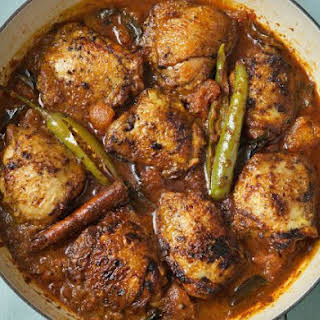 Chicken Vindaloo.
