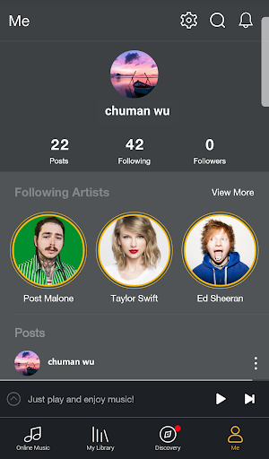GO Music Plus - Free Music, Radio, MP3 Player 2.1.1 screenshots 5