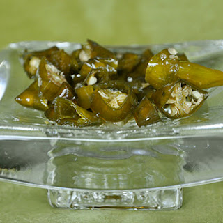 Candied Hot Peppers.