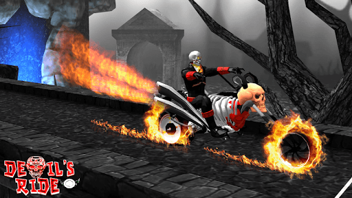 Devil's Ride: Bike Stunt Game captures d'u00e9cran 1