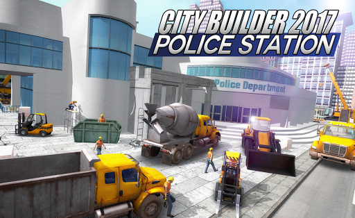 City builder 17 Police Station