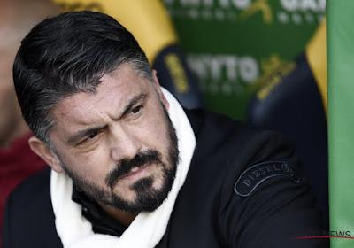 """Gattuso assume: """"Les insultes, je les mérite plus que les joueurs"""""""