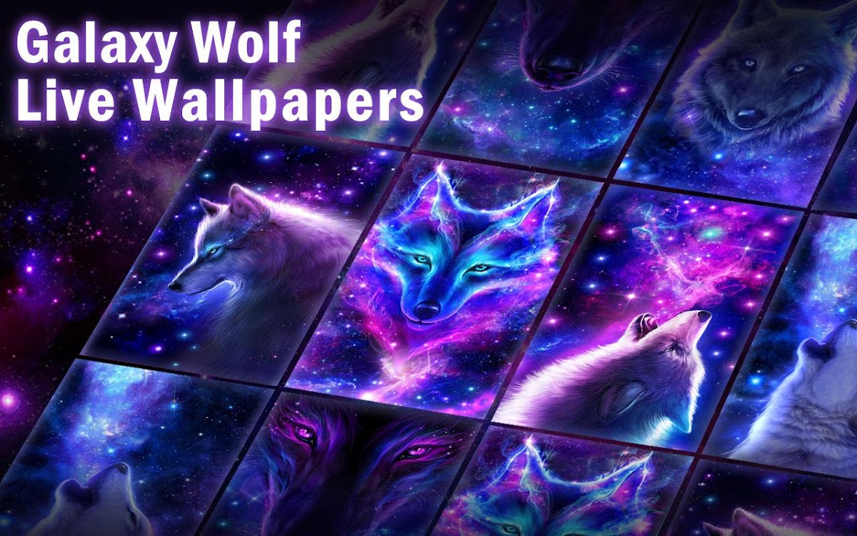 Galaxy Wolf Theme Android Apps Appagg