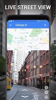 通り 見る - 地球 地図 ライブ、 GPS & 衛星 地図のおすすめ画像5