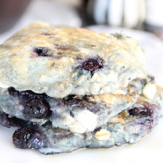 Skinny Blueberry & White Chocolate Pancake