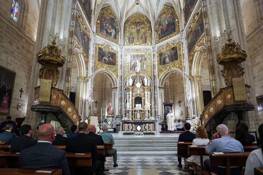 La Catedral, en la misa estacional del Corpus.